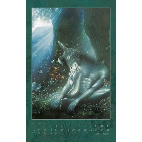 Friedrich Hechelmann Kalender 2018 August