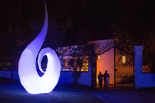 Kultur- und Museumsnacht Isny macht blau